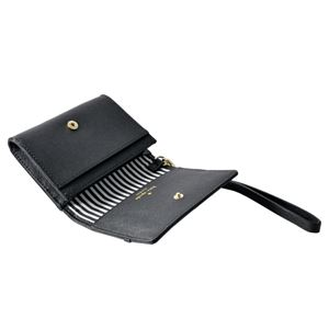 kate Spade (ケイトスペード) PWRU5956 1 リボン&ラインストーン ストラップ付 マルチケース 定期・カード入れ ELLIOTT STREET clemy