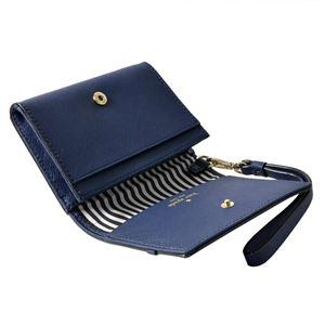 kate Spade (ケイトスペード) PWRU5956 449 リボン&ラインストーン ストラップ付 マルチケース 定期・カード入れ ELLIOTT STREET clemy