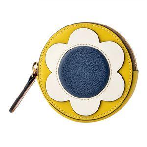Orla Kiely (オーラカイリー) 17SBGFL207 Lemon コインケース 小銭入れ GIANT FROWER Round Purse