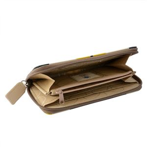 Orla Kiely (オーラカイリー) 17SESFS122 Sunshine ラウンドファスナー長財布 SUMMER FROWER STEM Big Zip Wallet