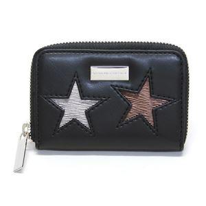 STELLA McCARTNEY (ステラマッカートニー) 431022 W8141 1000 スター 星型パッチワーク ジップ コインケース 小銭入れ Coin Purse Eco Alter Nappa Multicolor Stars