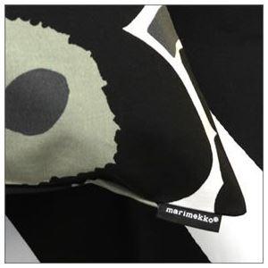 marimekko (マリメッコ) PIENI UNIKKO CUSHION COVER 50X50cm ウニッコ柄 クッションカバー 64163 30 white/black