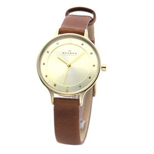 SKAGEN(スカーゲン)SKW2147レディス腕時計ラインストーンインデックス