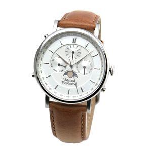Vivienne Westwood (ヴィヴィアンウエストウッド) VV164SLTN メンズ マルチカレンダー腕時計