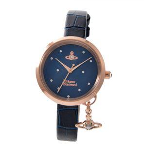 Vivienne Westwood (ヴィヴィアンウエストウッド) VV139NVNV レディース 腕時計 - 拡大画像