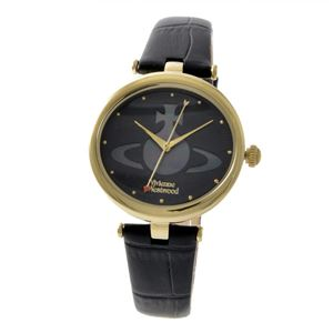 Vivienne Westwood (ヴィヴィアンウエストウッド) VV184BKBK レディース 腕時計 - 拡大画像