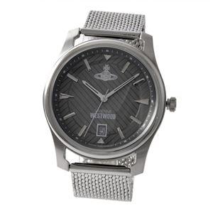 Vivienne Westwood (ヴィヴィアンウエストウッド) VV185GYSL メンズ 腕時計 - 拡大画像