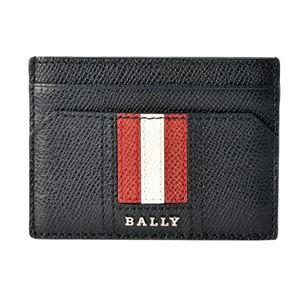 BALLY(バリー ) THAR.LT 10 6218031 バリーストライプ カードケース 名刺入れ
