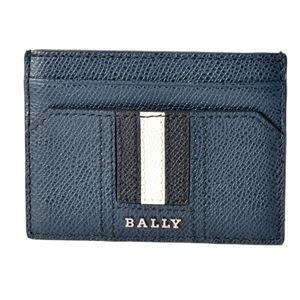 BALLY(バリー ) THAR.LT 17 6218033 バリーストライプ カードケース 名刺入れ