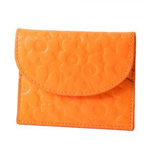 marimekko(マリメッコ ) 045423 200 エンボス ウニッコ型押しレザー カードケース 小銭&カード入れ EMBOSSED-UNIKKO KARRI