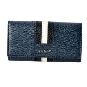 BALLY(バリー ) TALTOS.LT 17 6218045 バリーストライプ 4連 キーケース