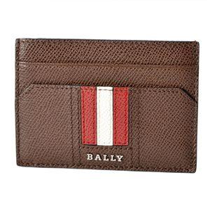 BALLY(バリー ) TACLIPO.LT 11 6218038 バリーストライプ マネークリップ付 カードケース 名刺入れ