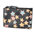 COACH(コーチ) 13678 Mw/Black Multi(MWBLC) スターライト プリント パスケース 小銭入れ・キーリング付 マルチケース STAR RIGHT PRINT MINI SKINNY ID CASE