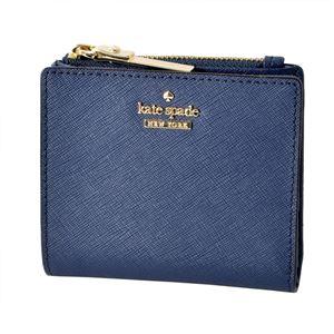 Kate Spade(ケイトスペード ) PWRU5451 449 パスケース付 二つ折り ミニ財布 CAMERON STREET adalyn
