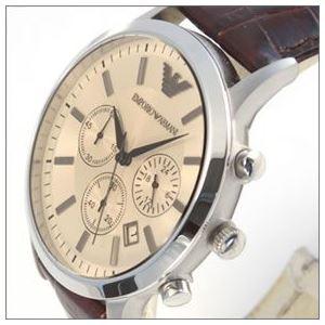 EMPORIO ARMANI(エンポリオアルマーニ) AR2433 クロノグラフ メンズ腕時計