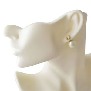 Kate Spade(ケイトスペード) WBRUD617-143 Cream Multi スペード型 パール リバーシブル 2WAY ピアス Signature Spade Reversible Earrings