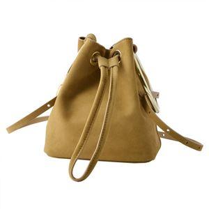 Maison Boinet(メゾンボワネ) 97078G-174-179 Nomade リングハンドル 巾着型 2WAY ミニバッグ ショルダーバッグ S