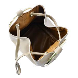 Maison Boinet(メゾンボワネ) 97080G-169-77 Qabardine リングハンドル 巾着型 2WAY ミニバッグ ショルダーバッグ M