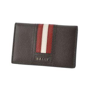 BALLY(バリー) TYKE.LT 21 6221815 バリーストライプ パスケース付 カードケース 名刺入れ