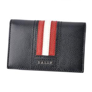 BALLY(バリー) TYKE.LT 10 6218025 バリーストライプ パスケース付 カードケース 名刺入れ