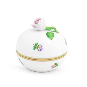 HEREND(ヘレンド) MF 06033009 Pink ミルフルール マルボンボン ローズ(ピンク) ボックス 小物入れ Milles Fleurs