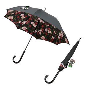 Fulton(フルトン) L754 032756 Bloomsbury-2 Enchanted Bloom ワンタッチ ジャンプ傘 自動開き 長傘 2重構造 ブルームズバリー アンブレラ 表と裏で異なるデザインが魅力的