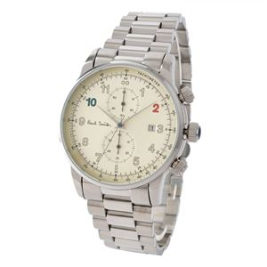 PAUL SMITH(ポールスミス) P10142 ブロック メンズ 腕時計