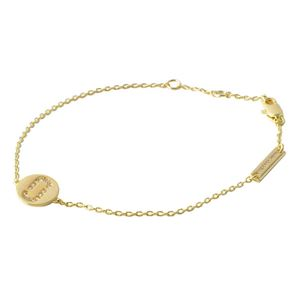 MARC JACOBS (マークジェイコブス) M0011494-168 Crystal/Gold クリスタル 「J」ロゴモチーフ ブレスレット Icon Crystal Bracelet