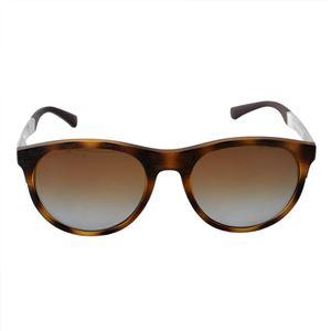EMPORIO ARMANI (エンポリオアルマーニ)イーグルロゴ サングラス EA4084 5089T5 【フレーム】マットダークハバナ(べっ甲)【レンズ】ブラウングラデーションポラライズド(偏光レンズ)