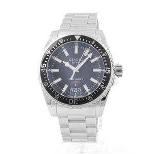 GUCCI (グッチ) YA136301 ダイブ コレクション メンズ腕時計 クォーツ ラージ