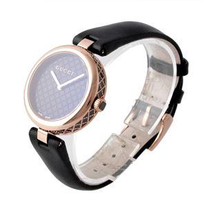 GUCCI (グッチ) YA141401 ディアマンティッシマ レディース 腕時計 文字盤カラー:ブラック