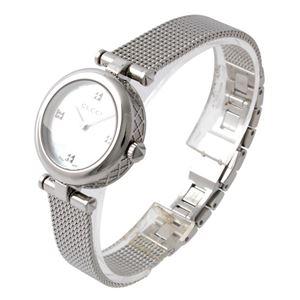 GUCCI (グッチ) YA141504 ディアマンティッシマ レディース 腕時計 文字盤カラー:ホワイトシェル
