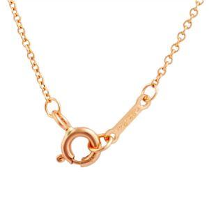 Tiffany (ティファニー) 34614555 パロマ・ピカソ ラビング ハート ペンダント ミニ 16in 18KRG ネックレス