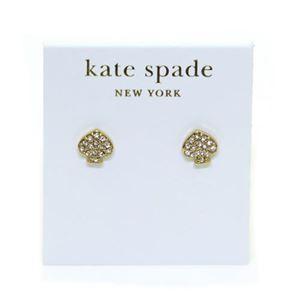 KATE SPADE (ケイトスペード) Signature Spade Crystal Studs スペード型 クリスタル ピアス WBRU2816
