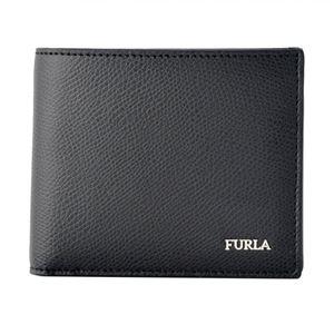 FURLA (フルラ) 902054 ONYX メンズ 小銭入れ付 二つ折り財布 MARTE