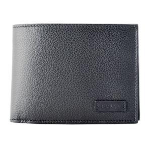 FURLA (フルラ) 938241 ONYX メンズ 小銭入れ付 二つ折り財布 ULISSE