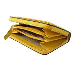 MICHAEL KORS (マイケルコース) 32T8GF6Z1L 719 Sunflower MKロゴ ジップアップ コイン カード ケース