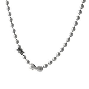 CODY SANDERSON(コディサンダーソン)C9-99-002 ステンレス ボールチェーン ネックレス Stainless Ball Chain Necklace 24in