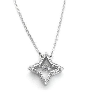 SWAROVSKI(スワロフスキー)5349654 ダンシングクリスタル クリスタルパヴェ 星型モチーフ ネックレス ペンダント Sparkling Dance Star