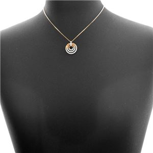 SWAROVSKI(スワロフスキー)5349193 クリスタルパヴェ サークル ペンダント ネックレス Circle Rose Gold