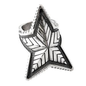 CODY SANDERSON(コディサンダーソン)C2-01-001-7.5 ディープスター リング 指輪 US7.5 (日本サイズ15号相当) Depp Star Ring
