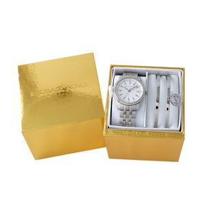 MICHAEL KORS(マイケル コース)MK3746 レディース 腕時計 ブレスレット(バングル)2本付 ギフトセット