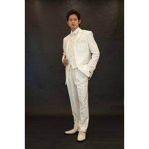 【Mサイズ】結婚式に、メンズフォーマル小物6点セット(オフ) h03