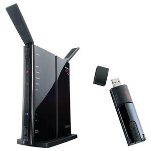 バッファロー エアステーション ハイパワー Giga 11n/g AOSS2対応 無線LAN親機 USB子機付き WZR-300HP/U - 拡大画像
