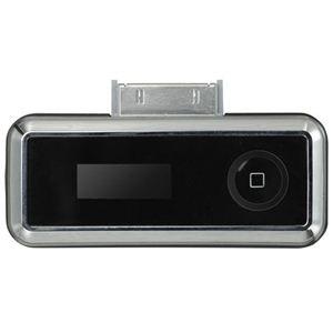 グリーンハウス iPod用FMトランスミッター&充電アダプタ iPhone対応 GH-FTC-IPOD2TK - 拡大画像