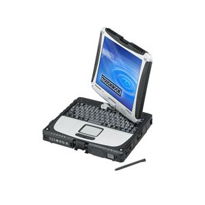 パナソニック TOUGHBOOK CF-19W/R i5-3320M/10.1XGA/4G/500G/a.b.g.n/Bluetooth/Win7Pro(SP1) CF-191W1ADS - 拡大画像