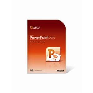 日本マイクロソフト Microsoft Office PowerPoint 2010 079-05196 - 拡大画像