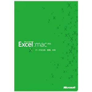 日本マイクロソフト Microsoft Excel for Mac 2011 D46-00805 - 拡大画像