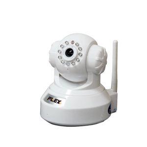 プレクス iPhone・スマートフォン対応ネットワークIPカメラ PX-IPCAM264-WH - 拡大画像