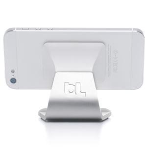 トリニティ マイロ・スマートフォンスタンド(アルミホワイト)[Milo Aluminum White] BLD-MILO-ALWT - 拡大画像